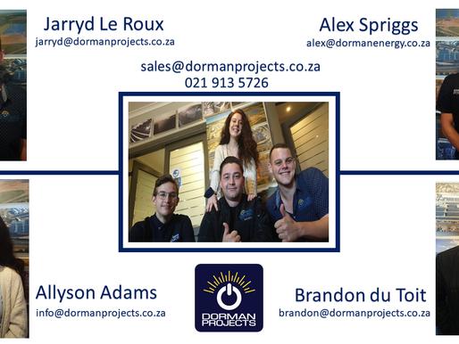 Meet the Dorman Residential Experts