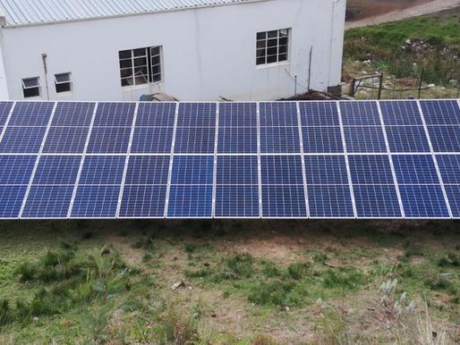 Solar is pumping!