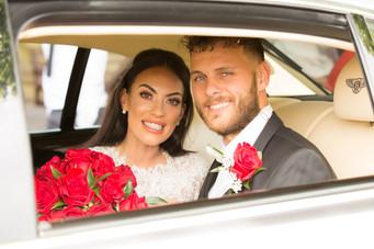 Eaves Hall Wedding Day