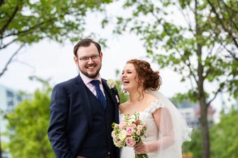 Happy couple wedding photography