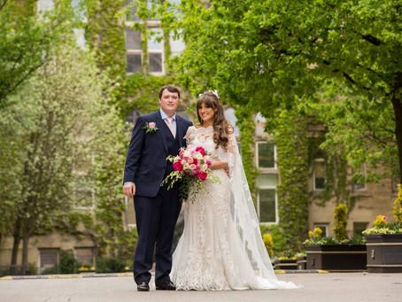 Christies Bistro Manchester Wedding - Chiara & Daniel