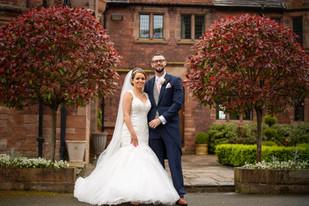 Colshaw Hall Wedding Day