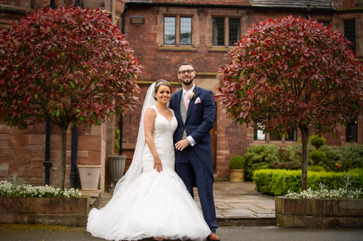 Colshaw Hall Wedding Day