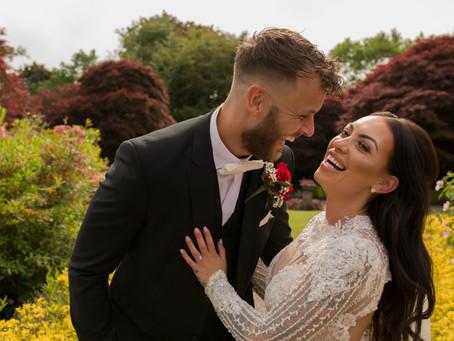 Eaves Hall Wedding - Gemma & Kane
