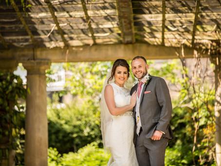 Crown Hotel Harrogate Wedding - Claire & John