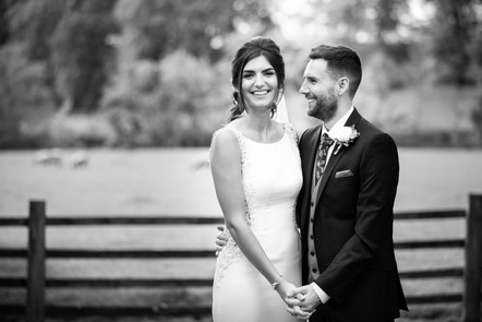 Natural Mitton Hall Wedding Day