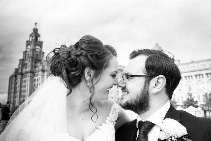 Liverpool Liver building wedding