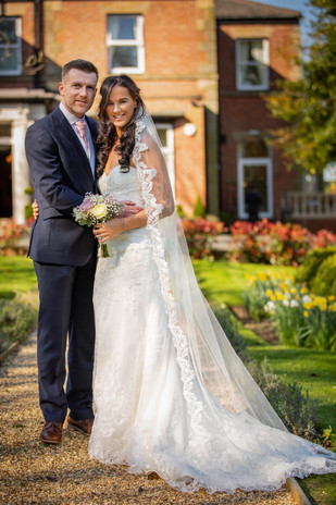 Ashfield House wedding day