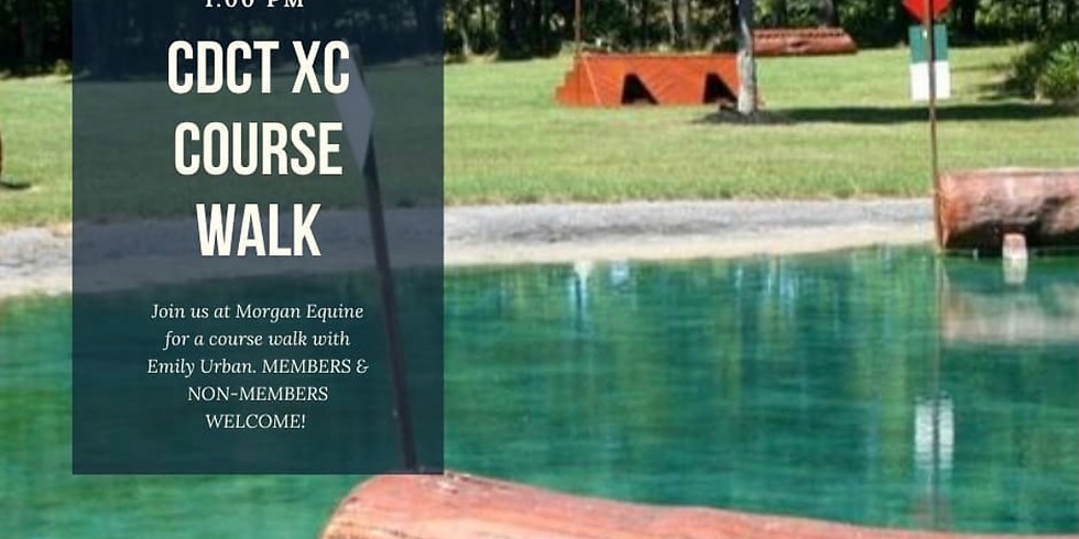 XC Course Walk with Emily Urban