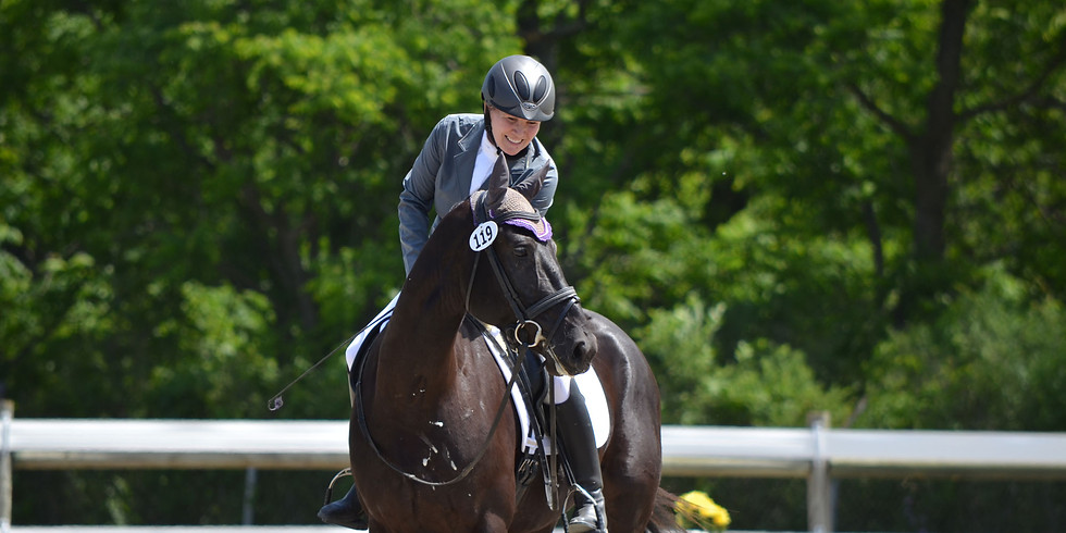Dressage in Wine Country