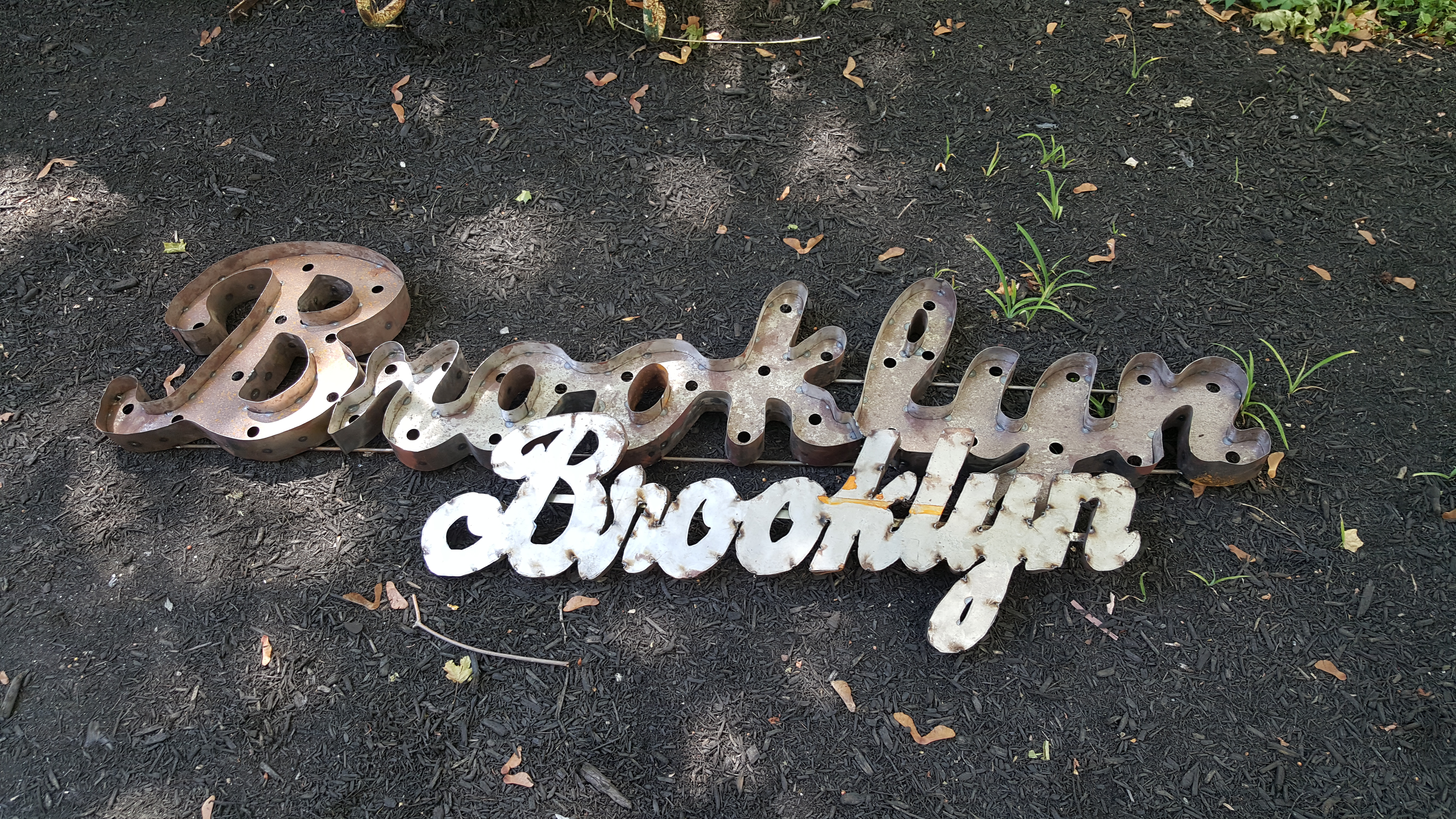 Brooklyn Metal Marquee Signage