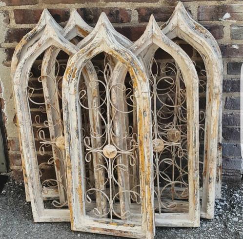 Decorative Iron Shutters Windows