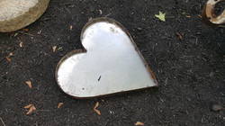Large Metal Heart $SOLD