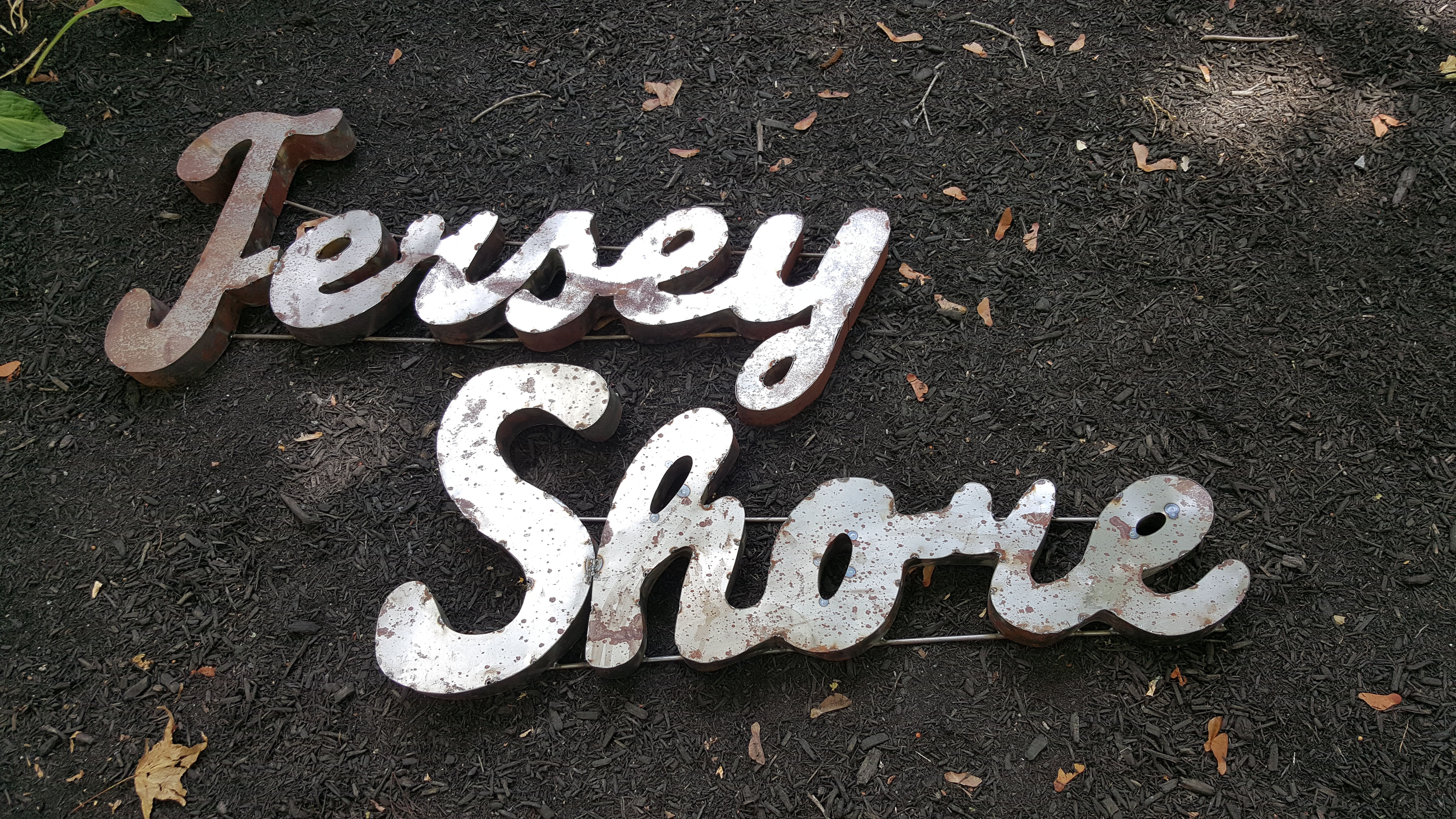 Large Jersey Shore Metal SOLD