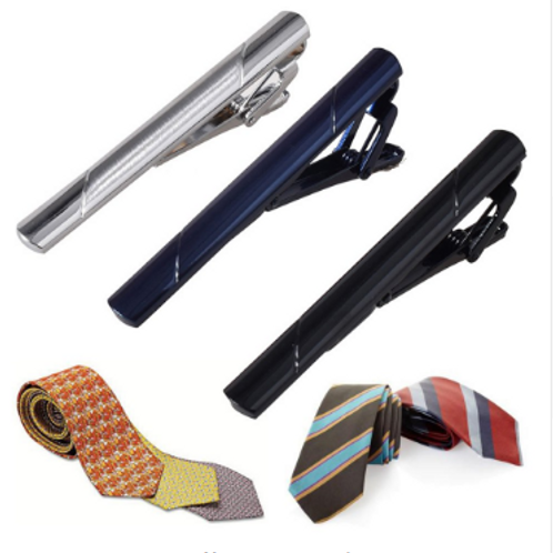 Stainless Steel Tie Clips