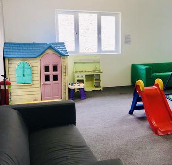 Kids play area - Heron Cottage Devon