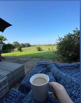 Morning Tea in the garden