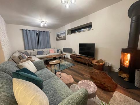 Heron Cottage Devon  lounge