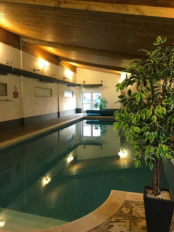 Indoor Heated pool - Heron Cottage Nehouse Barton Devon
