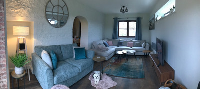 The Lounge - Heron Cottage Devon