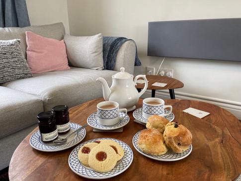 Devon Cream Tea  - Heron Cottage Devon