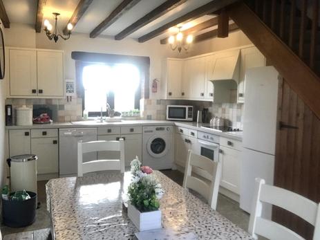 The Kitchen Heron Cottage Devon