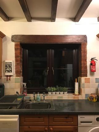 The Kitchen -Heron Cottage Devon at Newhouse Barton