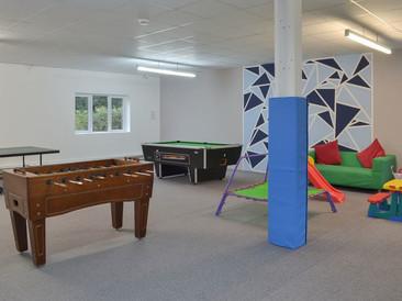 Heron Cottage Newhouse Barton Devon - Games room