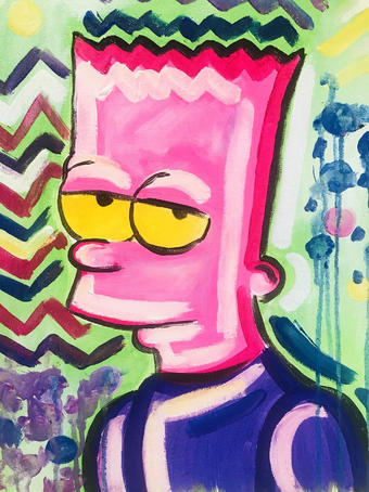 Paint Your Toon Bart