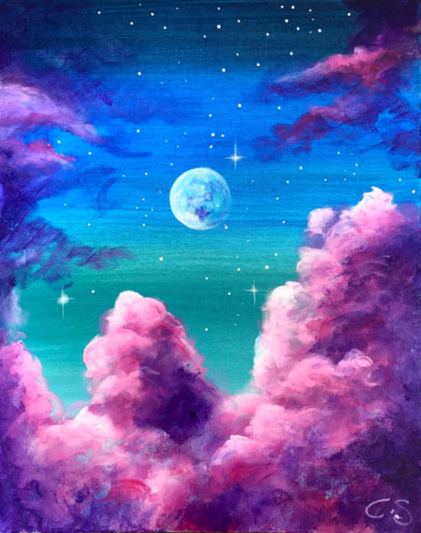 Nightsky Dream   Sip & Paint