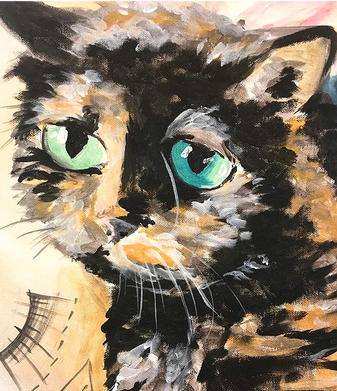 Paint Your Pet Cat