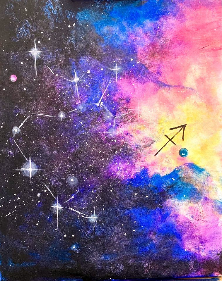 Paint Your Zodiac   Sip and Paint