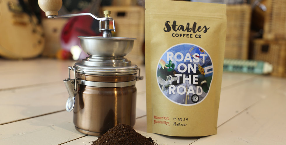 Roast On The Road - 250g - Regular Ground or Whole Bean