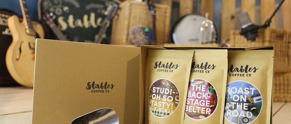 Stables Coffee Lover's Variety Pack 3 x 150g - Ground or Whole Bean