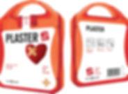 MyKit Pflaster. Ideales Plasterset für Unterwegs. Mit diesem Set sind Sie gut vorbereitet um kleine Wunden zu behandeln und abzudecken. Inhalt: 24 wasserfeste Pflaster, 10 hautreinigende Tupfer, 4 Trockentupfer. Alle im Set enthaltenen Erste-Hilfe- und Pflegeprodukte erfüllen alle geltenden EU-Vorschriften. Preis inkl. vollfarbigem Druck. Kunststoff.