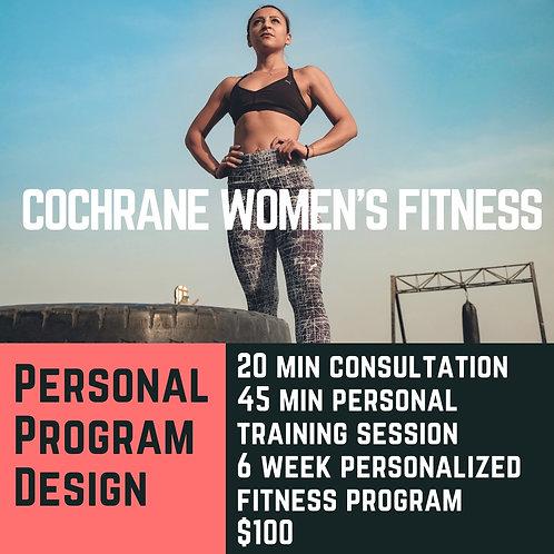 Personal Program Design