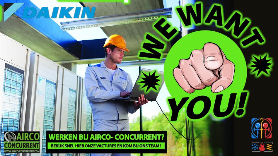Werken bij airco-concurrent?