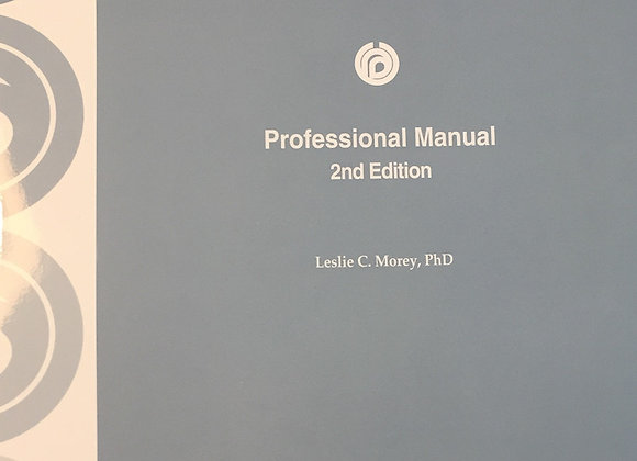 5073-59660    PAI PROFESSIONNAL MANUAL 2ND EDITION