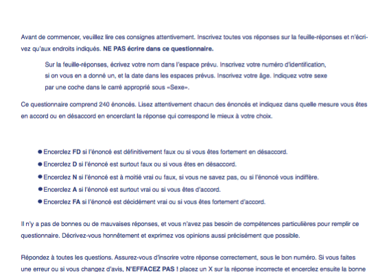 6073-67920   NEO-PI-3 QUESTIONNAIRES FR (PQT 10)