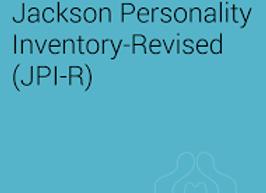 5002-32036  JACKSON PERSONALITY INVENTORY ( JPI-R ) QUESTIONNAIRE REUTILISABLE