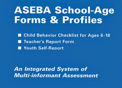 ASEBA (305) 6-18 SCHOOL AGE MANUAL