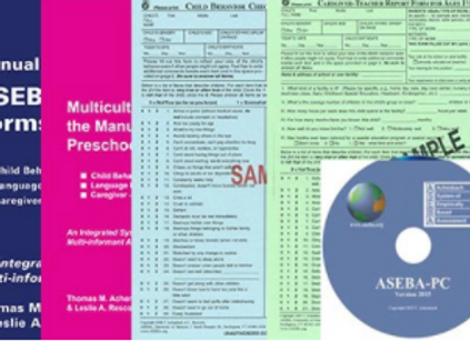 ASEBA (621) 1.5-5 PRESCHOOL STARTER KIT COMP.SCORING