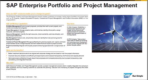 Project EPPM SAP
