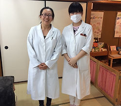 With Dr. Kanno in Takasaki, Japan