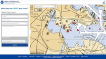 NOAA makes it easier to submit a comment or report a nautical chart error