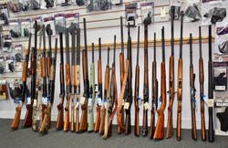Rifles in store