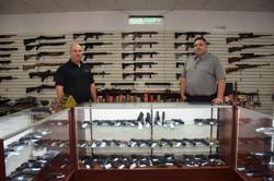 Blue Line Firearms Employees