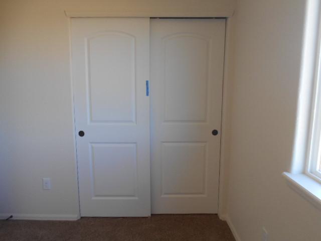 closet doors not aligned properly