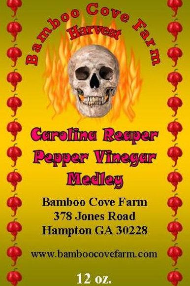 Carolina Reaper Pepper Vinegar Medley