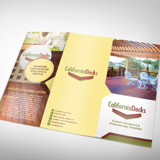 California Decks Brochure